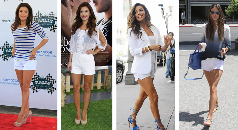 White shorts - como usar   7ec9c39edf079